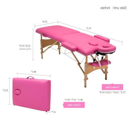 """84""""L Beauty Bed Case Pink"""
