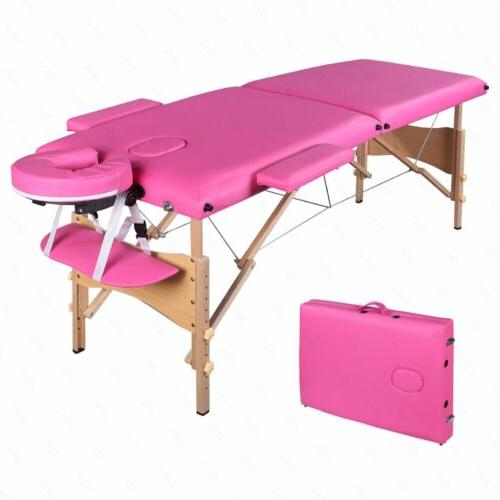 "84""L Pink Massage Beauty Bed Case"