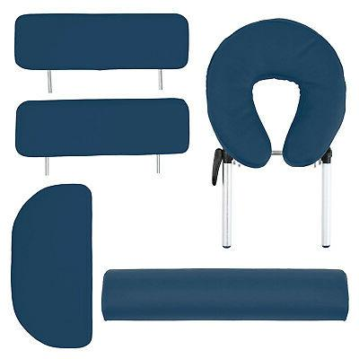 Portable Massage Table with Bolster Backrest