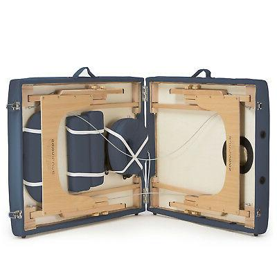Blue Portable with Carrying Case