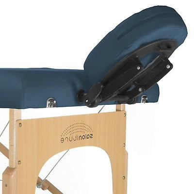 Blue Portable Table with Carrying Case