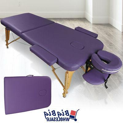 portable foldable massage table bed spa facial