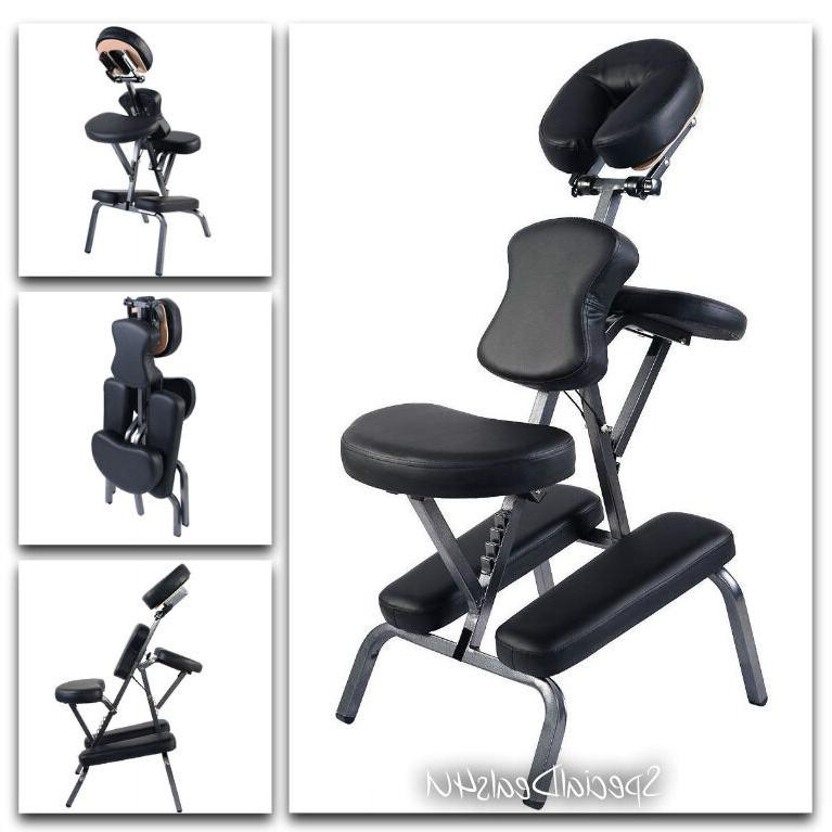 Portable Massage Chair Tattoo Table Exam Salon Facial Bed Sp