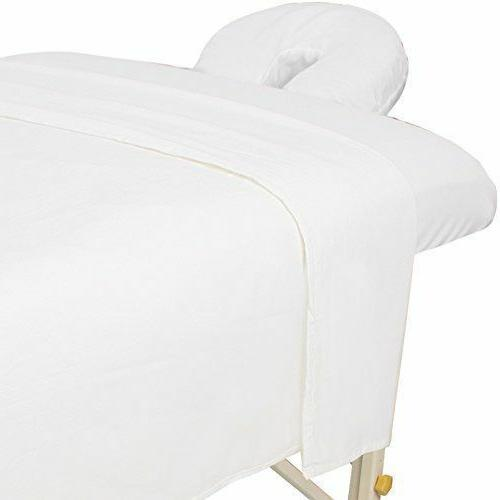 premium flannel sheet 3 piece set white