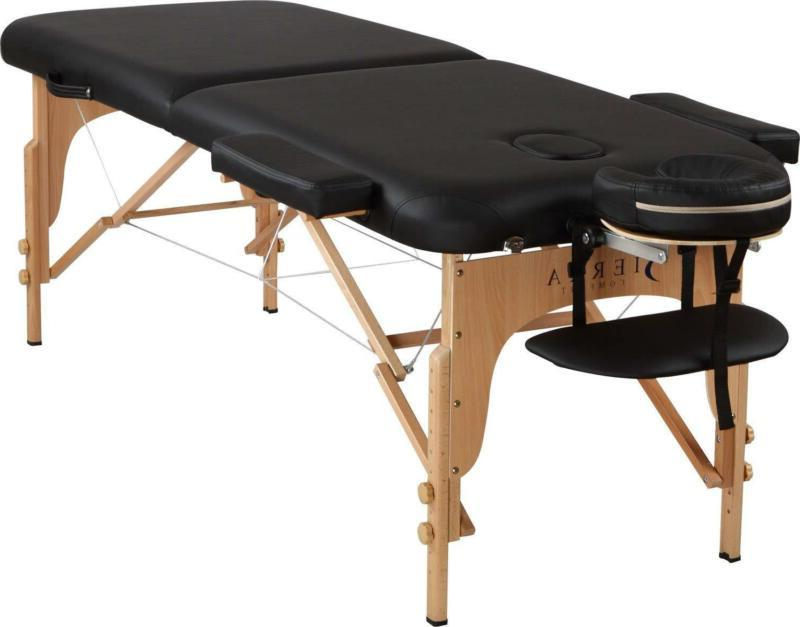 Professional Comfort Portable Table Sierra Comfort BLACK