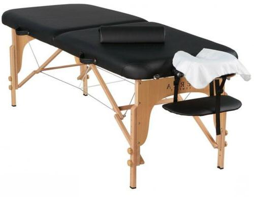 sierra comfort soothe series portable massage table