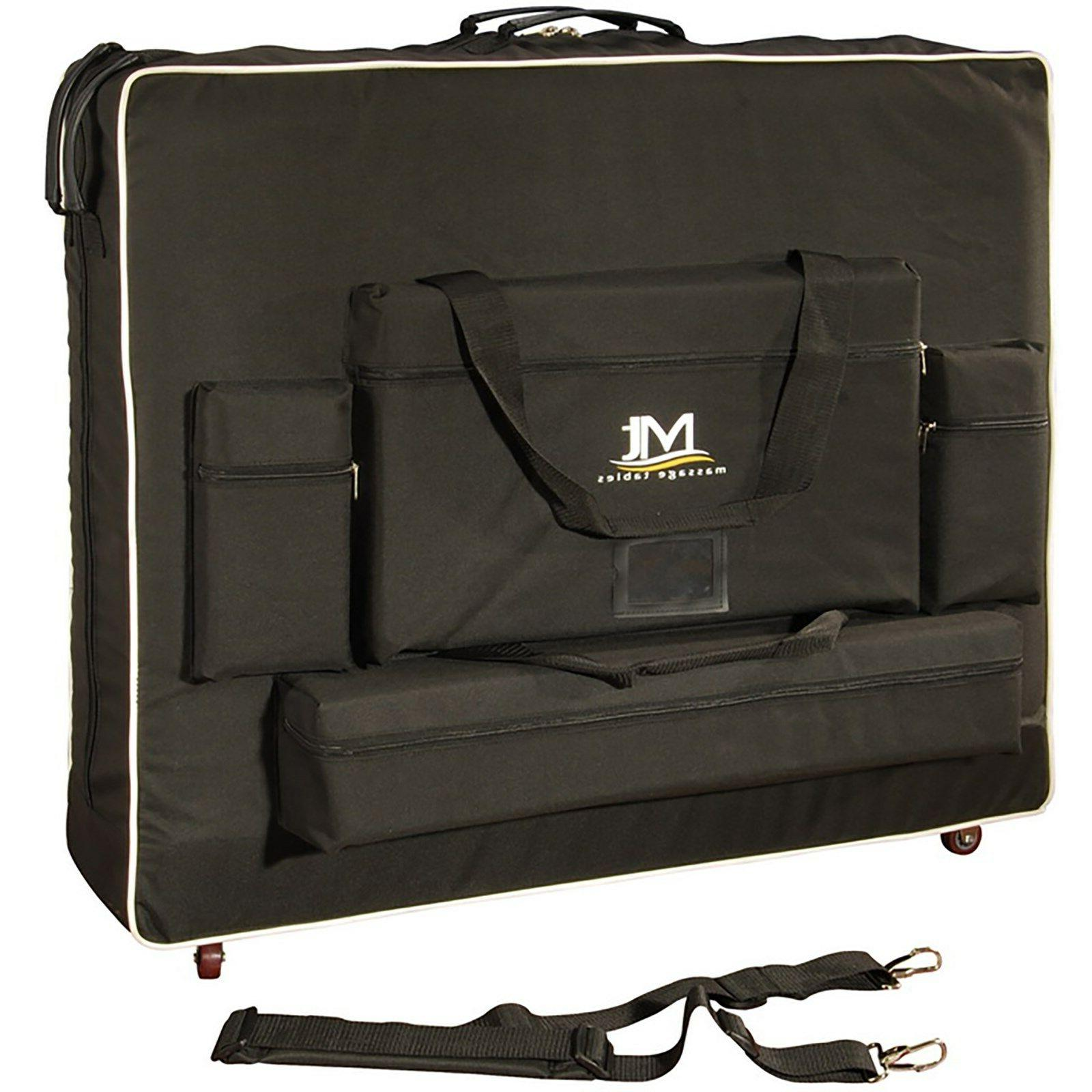 "Master Massage Table 30"" inch wheeled Carrying Case Bag"