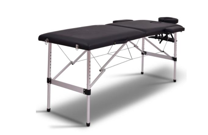 therapists portable massage spa table 2 section