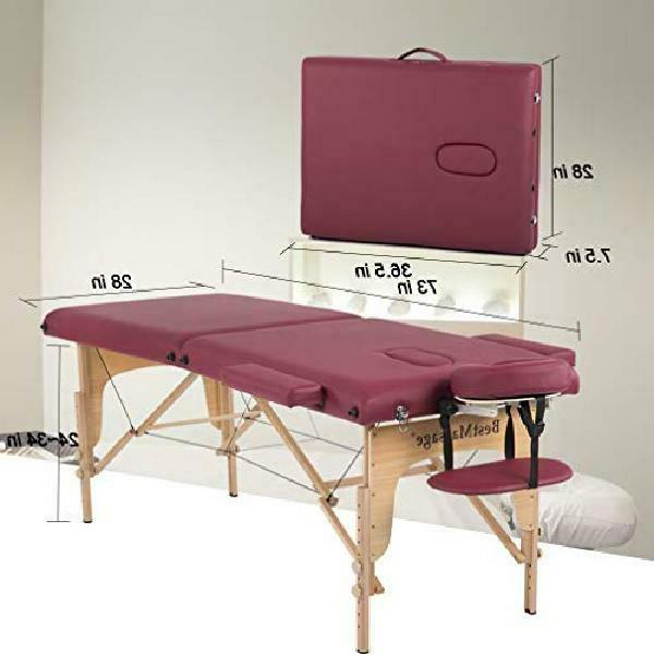 Bestmassage Two Portable Massage Table