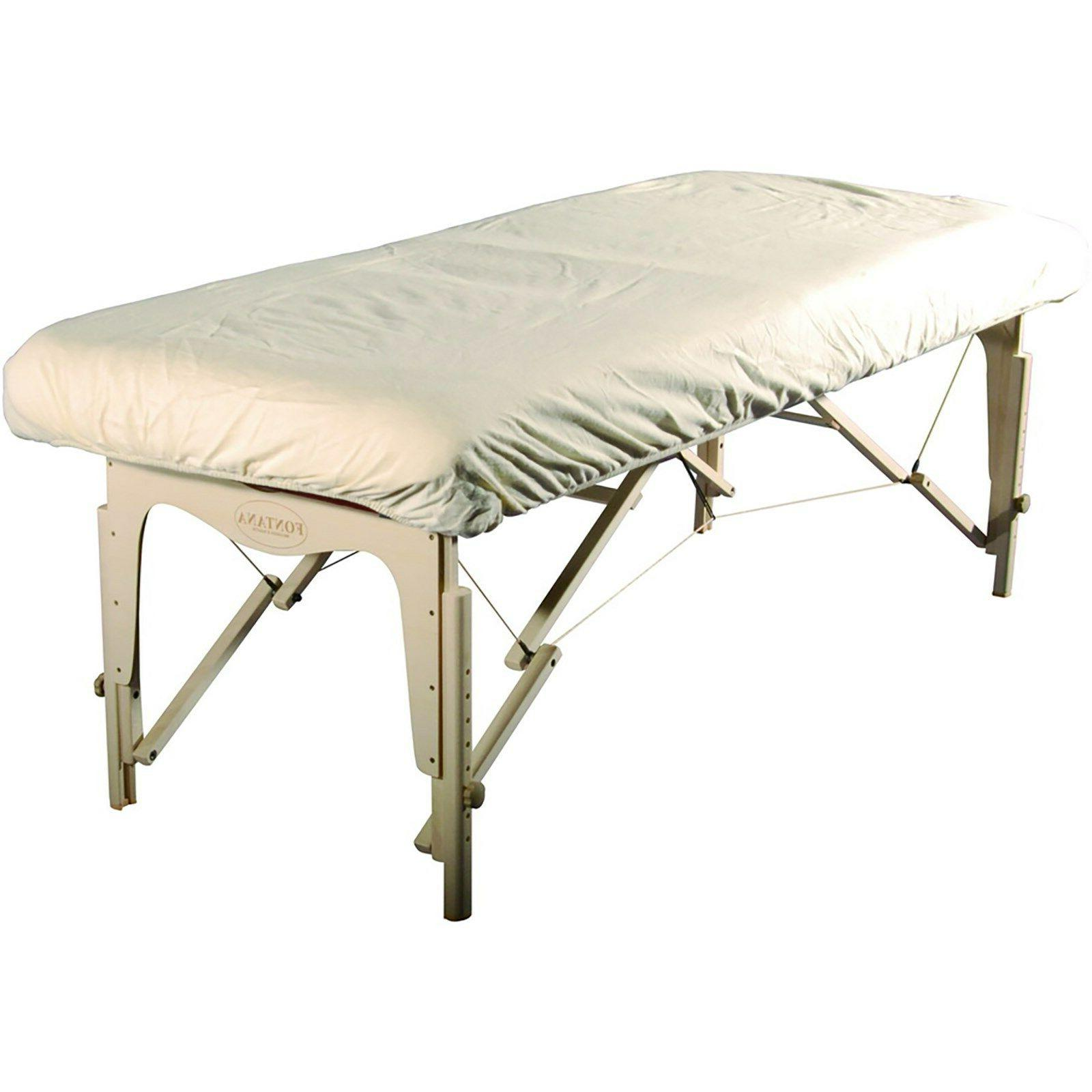 Master Massage Universal Size Cotton Natural Fitted Flannel