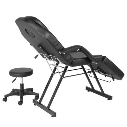 US Adjustable Table Bed Chair Beauty Black