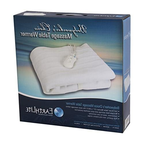 BODYWORKER'S CHOICE Settings, Felt Lined Heating Pad   One-Year Replacement Guarantee