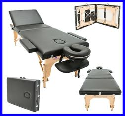 MASSAGE IMPERIAL® LIGHTWEIGHT BLACK PORTABLE MASSAGE TABLE