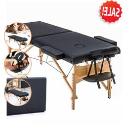 Lightweight Massage Table Portable Folding Reiki Spa Beds Fa