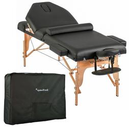 "77"" Long 30"" Wide 3"" PadMassage Table with Free Carry Case a"