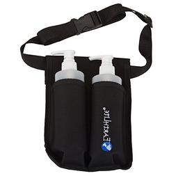 EARTHLITE Double Massage Oil Holster Kit - Incl. 2 Bottles &