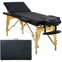 Massage Table Bed Spa 73 Inch Portable Heigh Adjustable Fold