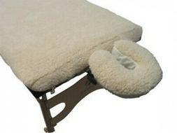 Massage Table FLEECE PAD AND FACE CRADLE COVER SET: Fits All