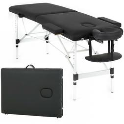 massage table heigh adjustable 2 fold w
