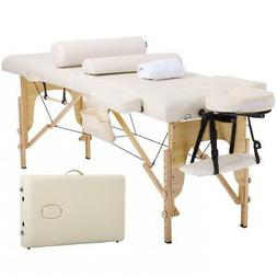 """Massage Table Massage Bed Spa Bed 73"""" Height Adjustable Cra"""