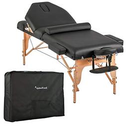 "Massage Table Massage Bed Spa Bed Height Adjustable 77"" Long"