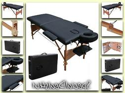 Massage Table Portable Bed Tattoo Tables Facial Spa Carry Ca
