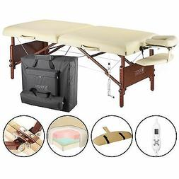 """Master 30"""" Del Ray Therma-Top Portable Massage Table (Beig"""