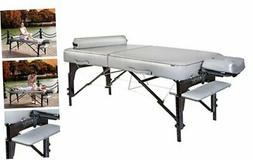 "Master Massage 30"" Montour Lx Massage Table Package with 3"""