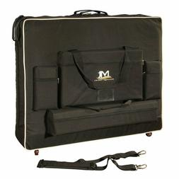 """Master Massage Tables 30"""" Wheeled Carrying Case,Bag With Whe"""