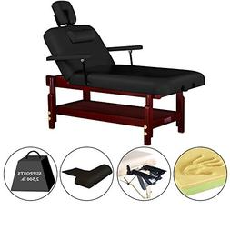 "Master Massage 31"" Montclair Stationary-Spa salon Massage Ta"