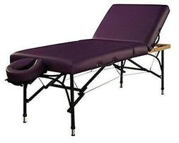Mt Massage Violet-Tilt 29.5''Liftback Tilting Salon Aluminum