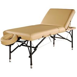 "Mt 29"" Violet Tilt Salon Portable Aluminum Massage Table Pac"