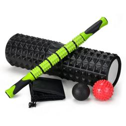 Multi Muscle Roller COMBO BUNDLE - Foam Roller & Muscle Roll