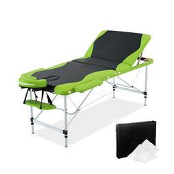 NEW Adjustable Portable Aluminium Massage Therapy Table Bed