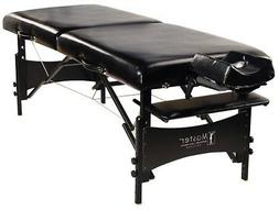 "NEW Master Massage BLACK 30"" Galaxy Portable Massage Table"