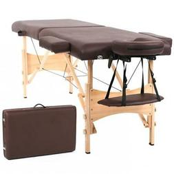 New Portable Massage Table Adjustable Height Massage Bed wit