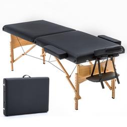 New BestMassage Portable Massage Table Adjustable Height Mas
