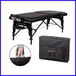 Best Massage Two-Fold Portable Massage Table, Carrying Cas