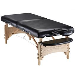 "Master Massage 32"" Olympic LX Massage Table, Black, Perfect"