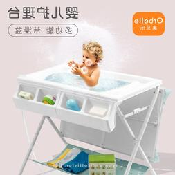 Multifunctional baby changing <font><b>table</b></font> baby