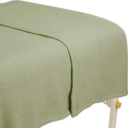 For Pro Polar Fleece Blanket, Sage, 63 Inch X 90 Inch