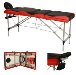 Portable Fold Massage Table Facial SPA Bed Tattoo w/Free Car