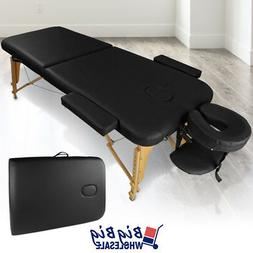 Portable Foldable Massage Table Bed Spa Facial Salon Tattoo