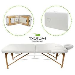 Portable Folding Massage Table Bed Spa Salon Facial Tattoo P
