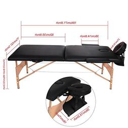 Portable Lightweight Massage Table Bed Facial Spa Bed Fold U