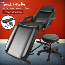 Portable Massage Facial Table Bed Tattoo Salon Chair Adjusta