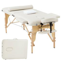 Portable Massage Table 2 Folding 73 Inch Long 28 Inch Wide H