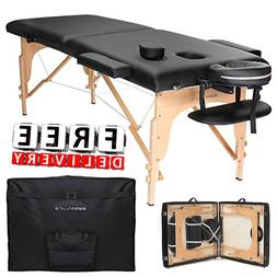 Portable Massage Table Folding Professional Carrying Case Be