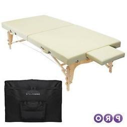 Portable Physical Therapy Massage Table - Stretching Treatme