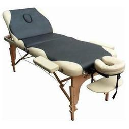 Portable Reiki Massage Table Tattoo Spa Beauty Facial Bed Su
